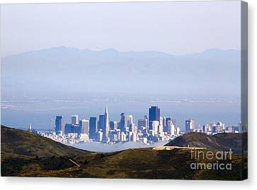 San Francisco  Canvas Print by Juan Romagosa
