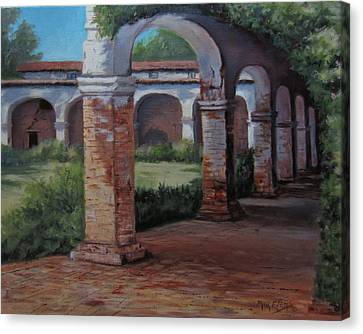 San Juan Capistrano  Canvas Print by Mar Evers
