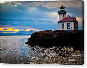 San Juan Dreaming Canvas Print by Inge Johnsson
