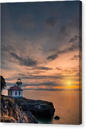 San Juan Sunset Canvas Print by Dan Mihai