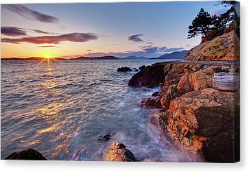 San Juans Serenity Canvas Print by Mike Reid