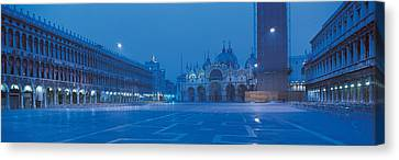 San Marco Square Venice Italy Canvas Print by Panoramic Images