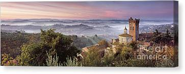 San Miniato - Tuscany Canvas Print by Rod McLean