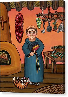 San Pascual And Vigas Canvas Print by Victoria De Almeida