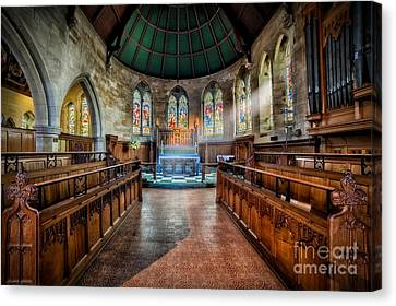 Sanctuary Canvas Print by Adrian Evans