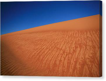 Sand Dune Canvas Print by Shari Mattox