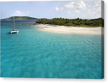 Sandy Cay Bvi Canvas Print by Bryan Allen
