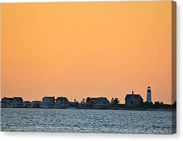 Sandy Neck Lighthouse Canvas Print by Amazing Jules