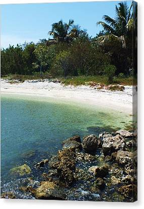 Sanibel Cove Canvas Print by Anna Villarreal Garbis