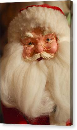 Santa Claus - Antique Ornament - 14 Canvas Print by Jill Reger