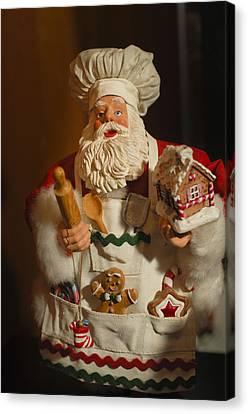 Santa Claus - Antique Ornament - 22 Canvas Print by Jill Reger