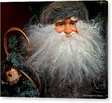 Santa Claus Canvas Print by Christopher Holmes