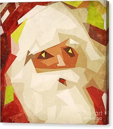 Santa Claus Canvas Print by Setsiri Silapasuwanchai