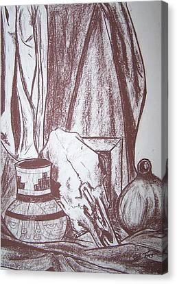 Santa Fe Standstill Canvas Print by Christopher Toro