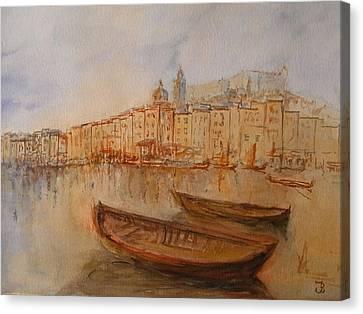Santa Margherita Ligure Canvas Print by Juan  Bosco