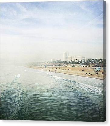 Santa Monica Beach  Canvas Print by Bree Madden