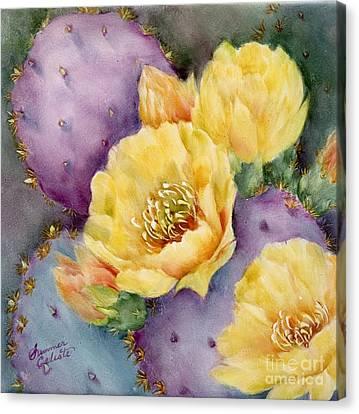 Santa Rita In Bloom Canvas Print by Summer Celeste