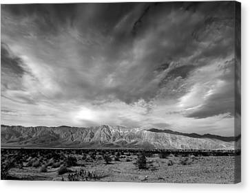Santa Rosa Mountains Canvas Print by Peter Tellone