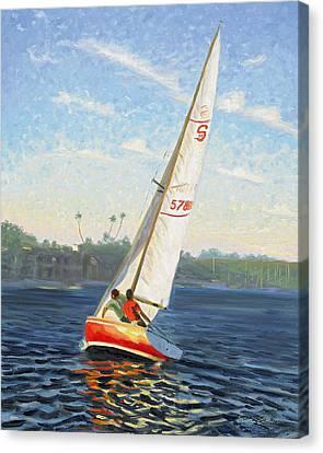Santana 20 Canvas Print by Steve Simon
