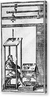Santorio Santorio (1561-1636) Canvas Print by Granger