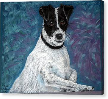 Sassy Pastel Canvas Print by Antonia Citrino
