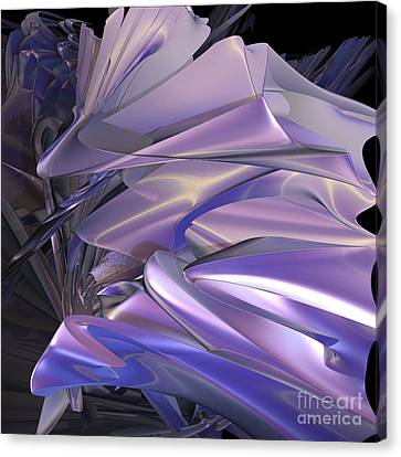 Satin Wing By Jammer Canvas Print by First Star Art