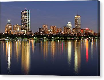 Saturday Night Live In Beantown Canvas Print by Juergen Roth