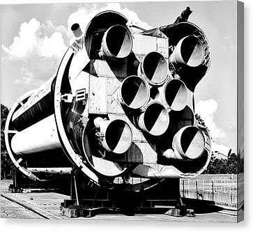 Saturn I Canvas Print by Benjamin Yeager