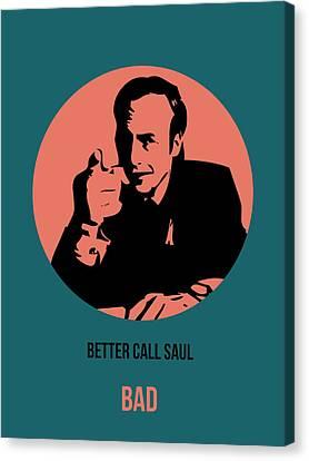 Saul Poster 2 Canvas Print by Naxart Studio