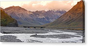 Savage River Canvas Print by Jim Cook