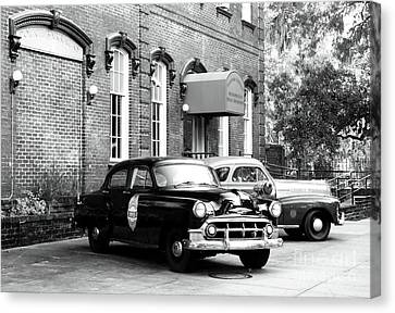 Savannah Police Station Canvas Print by John Rizzuto