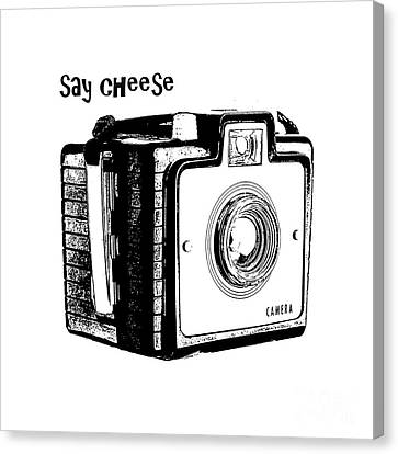 Say Cheese Canvas Print by Edward Fielding