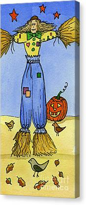 Scarecrow Canvas Print by Norma Appleton