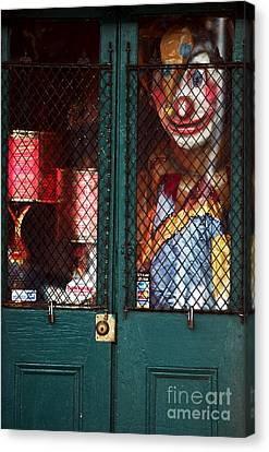 Scary Orleans Canvas Print by John Rizzuto