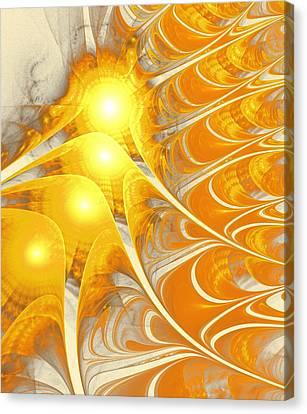 Scattered Sun Canvas Print by Anastasiya Malakhova