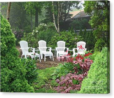 Scenes Of Maine Canvas Print by Victoria  Dauphinee