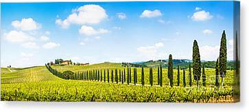 Scenic Italy Canvas Print by JR Photography