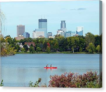 Scenic Minnesota 1 Canvas Print by Will Borden