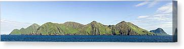 Scenic View Of Barren Islands Canvas Print by Panoramic Images