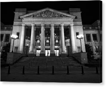 Schermerhorn Symphony Center In Nashville Canvas Print by Dan Sproul