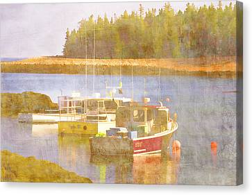 Down East Canvas Print featuring the photograph Schoodic Peninsula Maine by Carol Leigh