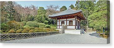 School Building In Ryoan-ji Temple Canvas Print by Panoramic Images