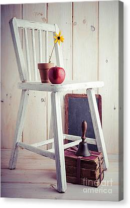 School Days Canvas Print by Edward Fielding