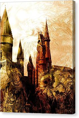 School Of Magic Canvas Print by Anastasiya Malakhova