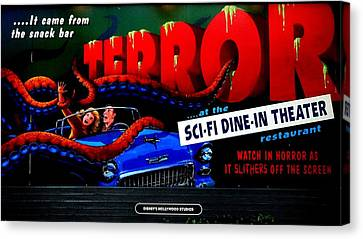Sci Fi Theater Canvas Print by Benjamin Yeager