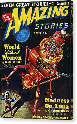 Science Fiction Cover, 1939 Canvas Print by Granger