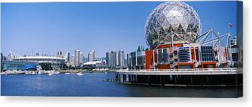 Science Museum At The Waterfront Canvas Print by Panoramic Images