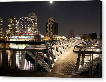 Science World At Telus World Of Science Canvas Print by Panoramic Images