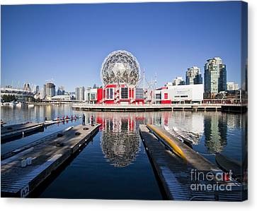 Science World Vancouver Canvas Print by Chris Dutton