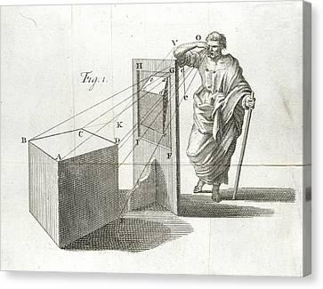 Scientific Diagram Canvas Print by British Library